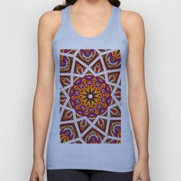 *Star Flower Council* Unisex Tank Top