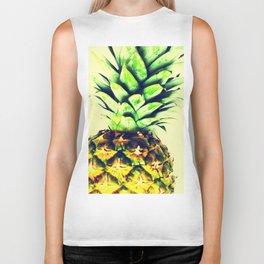 Delightful pineapple Biker Tank
