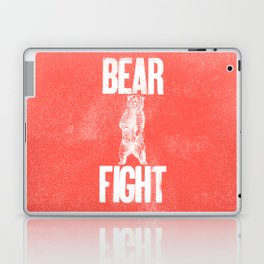 Bear Fight Laptop & iPad Skin