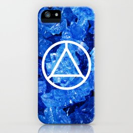 Sapphire Candy Gem iPhone Case