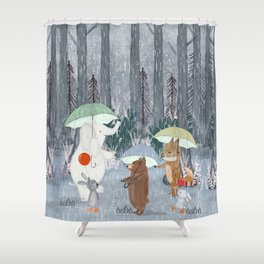 baby showers Shower Curtain