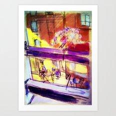 Lyon - oct 2014 Art Print