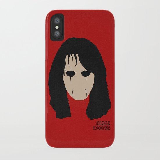 Rock Legends - Alice Cooper iPhone Case