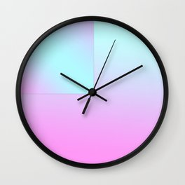 Gradient Composition Wall Clock