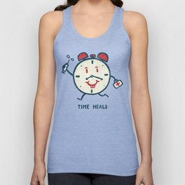 Time heals Unisex Tank Top