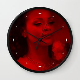 Rihanna - Celebrity (Dark Fashion) Wall Clock