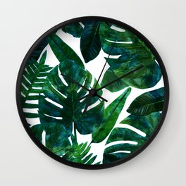 Perceptive Dream || #society6 #tropical #buyart Wall Clock