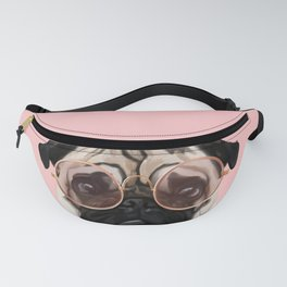 Intellectual Pug Fanny Pack