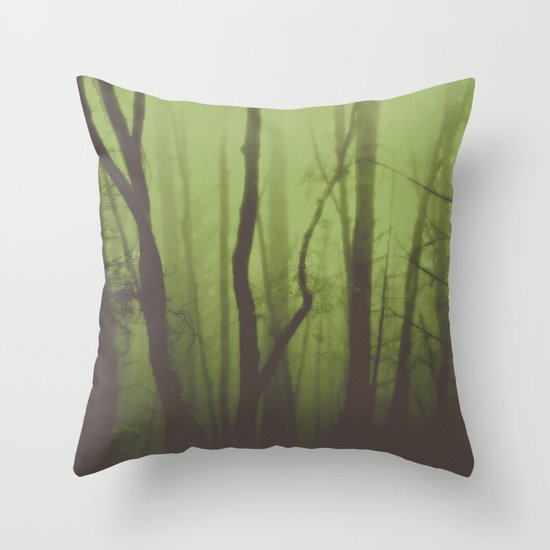 The Greenwood Throw Pillow