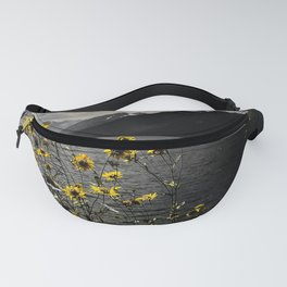Yellow Mountain Flowers Fanny Pack