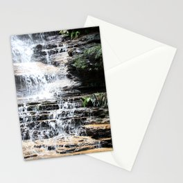 Blue Mountains Waterfall Stationery Cards