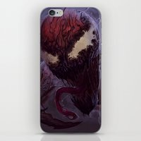 carnage iPhone & iPod Skins featuring Carnage by MATT DEMINO