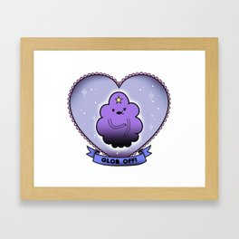 Glob Off Framed Art Print