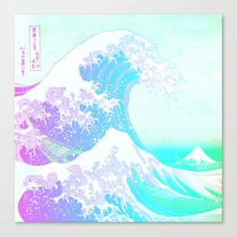 The Great Wave Unicorn Canvas Print