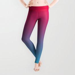 Pink and Sky-Blue Gradient 009 Leggings