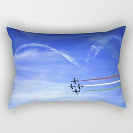 Cupid's Arrow - Frecce Tricolori Rectangular Pillow
