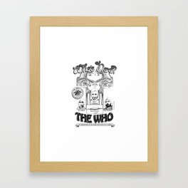 The Who Framed Art Print