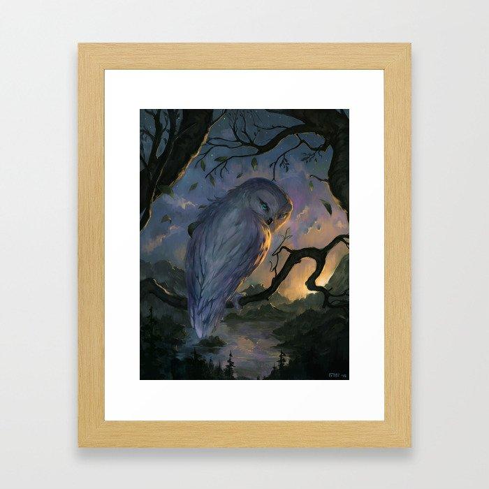 Disorient Framed Art Print