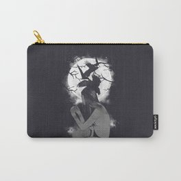 Raven-Haired Carry-All Pouch