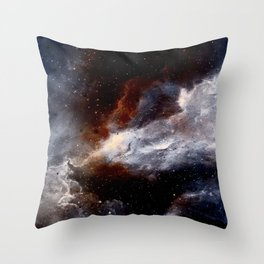 Dust, hydrogen, helium and other ionized gases Throw Pillow