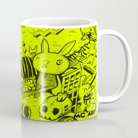 rave Mugs featuring Philips Rave by MCART