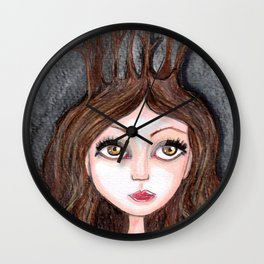 Forest Druid Wall Clock