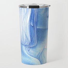 Blue skin Travel Mug