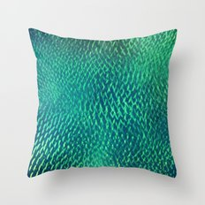 FluO scales Throw Pillow