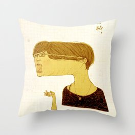 Shameless Throw Pillow