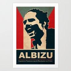 Albizu - Vintage Art Print