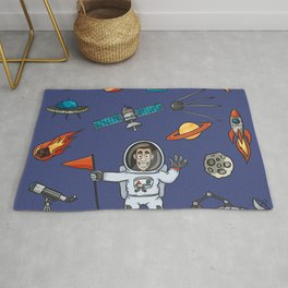 Space Elements Set Rug