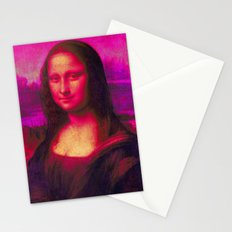 Mona Lisa's Haze (pink) Stationery Cards