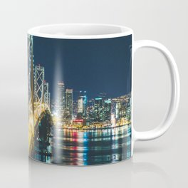 Bay Bridge Long Exposure - San Francisco, California Coffee Mug