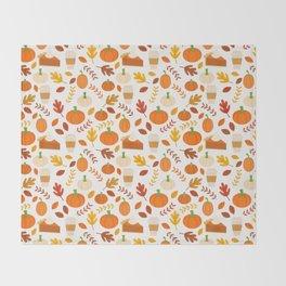 Everything Autumn Throw Blanket