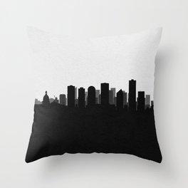 City Skylines: Edmonton Throw Pillow