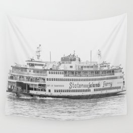 The Boat (Staten Island Ferry) Wall Tapestry