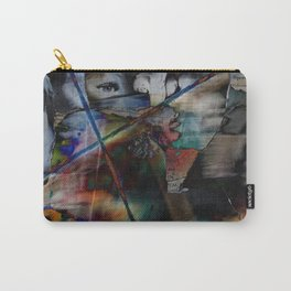 Many Faces in Time Carry-All Pouch