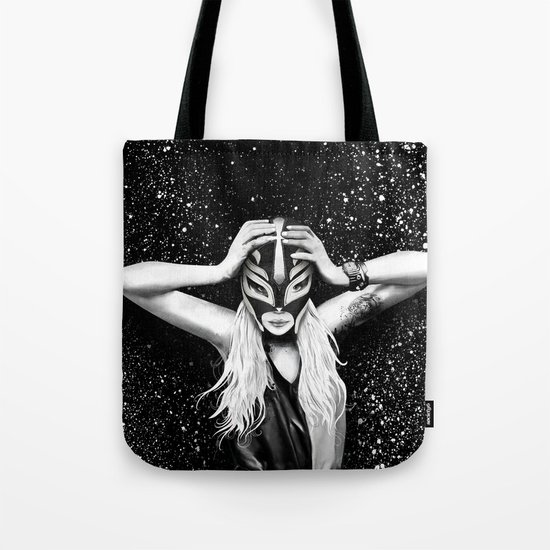 The Mask of Clash Tote Bag