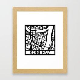 Koblenz Framed Art Print