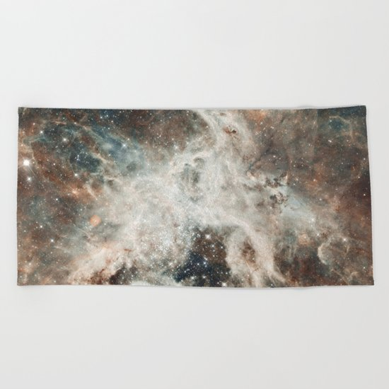 Space 08 Beach Towel