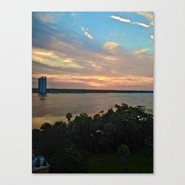 Sunset V Canvas Print