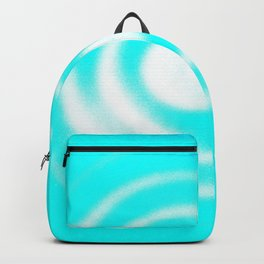 Child at Play in a Blue World Backpack