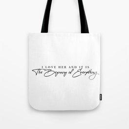 I love her Tote Bag