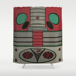 Kamen Rider V3 Shower Curtain
