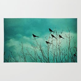 Like Birds on Trees Rug