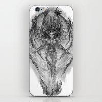 starcraft iPhone & iPod Skins featuring Demon Queen Kerrigan by Aeriz85