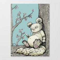 Cuddly Canvas Print