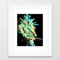 samurai Framed Art Prints featuring Samurai by Kent Floris