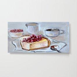 Desert, sweet, food, breakfast, coffee, lunch, dish, cake Metal Print