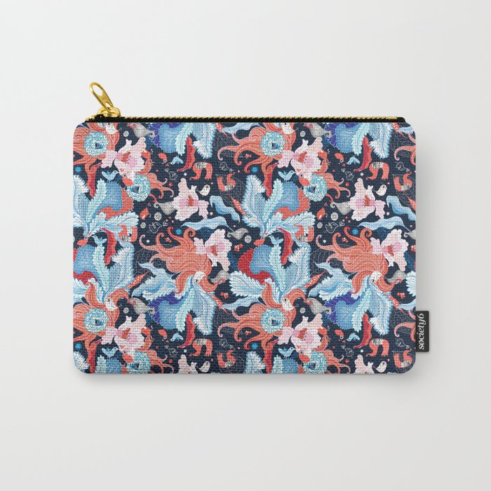Beautiful abstract art graphic design from plants Carry-All Pouch